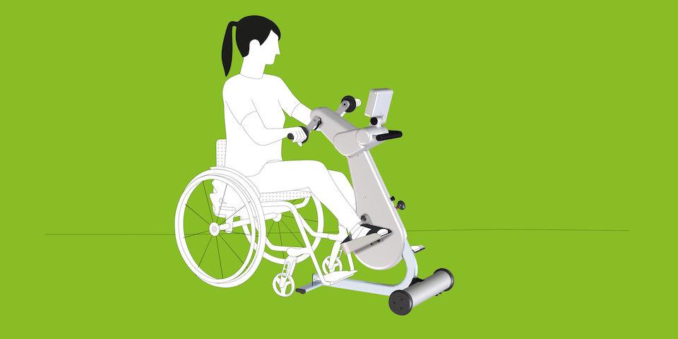 Paraplegia | Personal health benefits - MOTOmed
